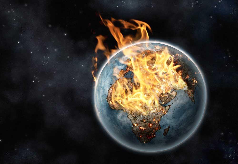 Thiên tài vật lý nói Trái đất sớm muộn sẽ nóng 250 độ C - 1