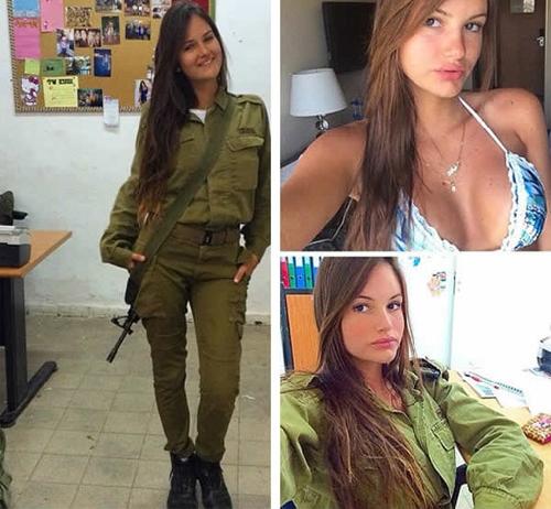 Mê mẩn vẻ đẹp nóng bỏng của các nàng lính Israel - 6