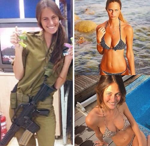 Mê mẩn vẻ đẹp nóng bỏng của các nàng lính Israel - 10