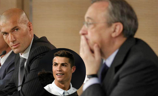 "Ronaldo ra ""yêu sách"" ở lại Real: Zidane, Perez ""méo mặt"" - 1"
