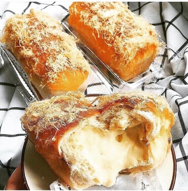 Quên bông lan trứng muối đi, bánh mì phô mai mới là 'cực phẩm' - 3