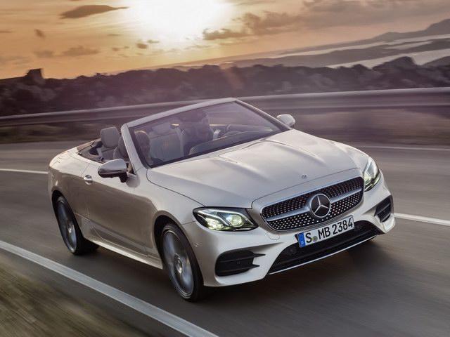 Mercedes E-Class Cabriolet 2018 có giá từ 1,4 tỷ đồng - 1