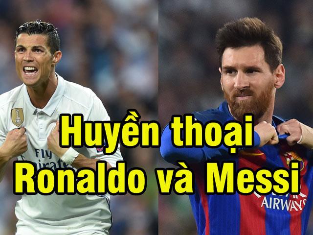 Huyền thoại Ronaldo và Messi đã bẻ cong lịch sử thế nào?