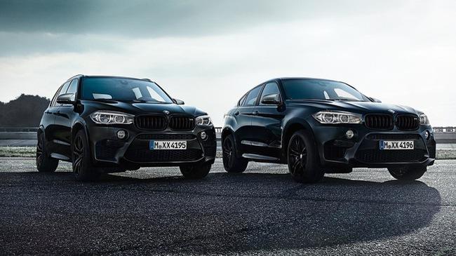 Lộ diện BMW X5 M và X6 M bản đen bóng đặc biệt - 1