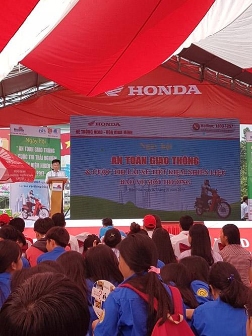 Cùng Head Honda Hòa Bình Minh lái xe an toàn, tiết kiệm nhiên liệu - 4