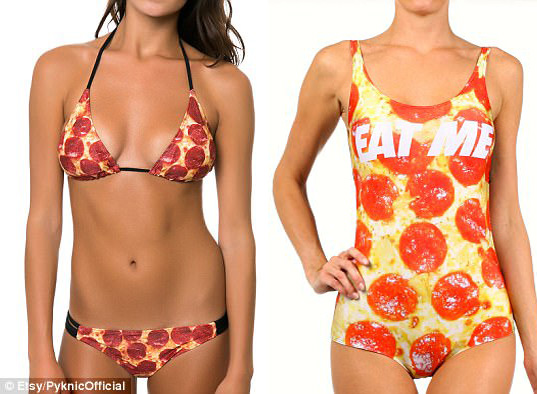 Nước Mỹ xôn xao vì áo tắm làm từ pizza có giá hơn 200 triệu - 4