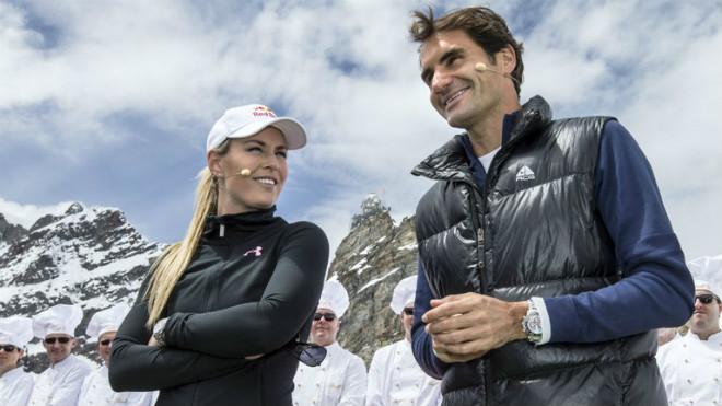 """Tennis 24/7: Federer là gương sáng của """"Bà chúa tuyết"""" - 1"""