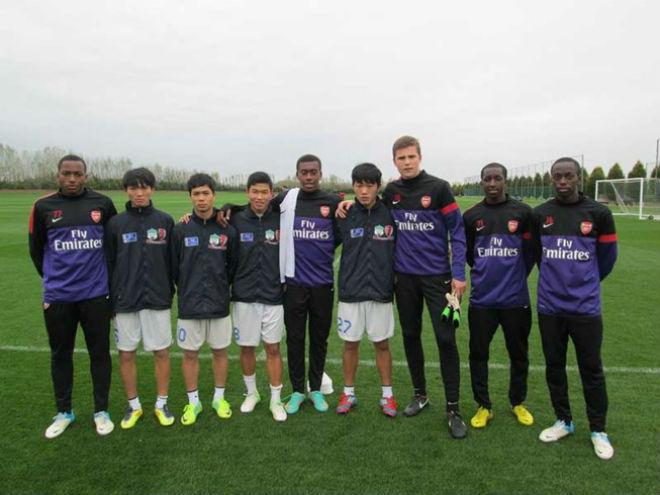 AFF: HA Gia Lai chia tay Arsenal vì chất lượng cầu thủ - 1