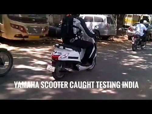 Yamaha Nozza Grande thế hệ mới lộ ảnh thử nghiệm - 1
