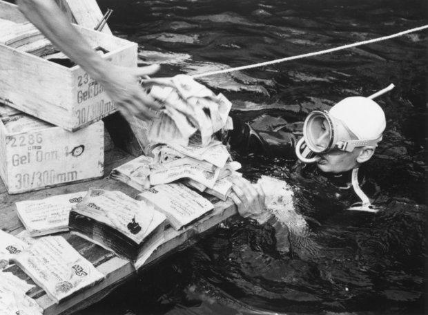 Bí ẩn kho vàng 45 tỉ USD của Hitler 70 năm dưới hồ sâu - 2