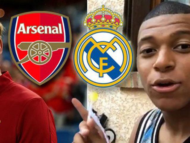 Chuyển nhượng Real 3/7: Arsenal chi 125 triệu euro đánh úp vụ Mbappe