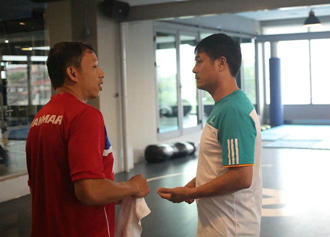 U23 VN: Tuấn Anh hăng say tập GYM, Công Phượng vắng mặt - 1