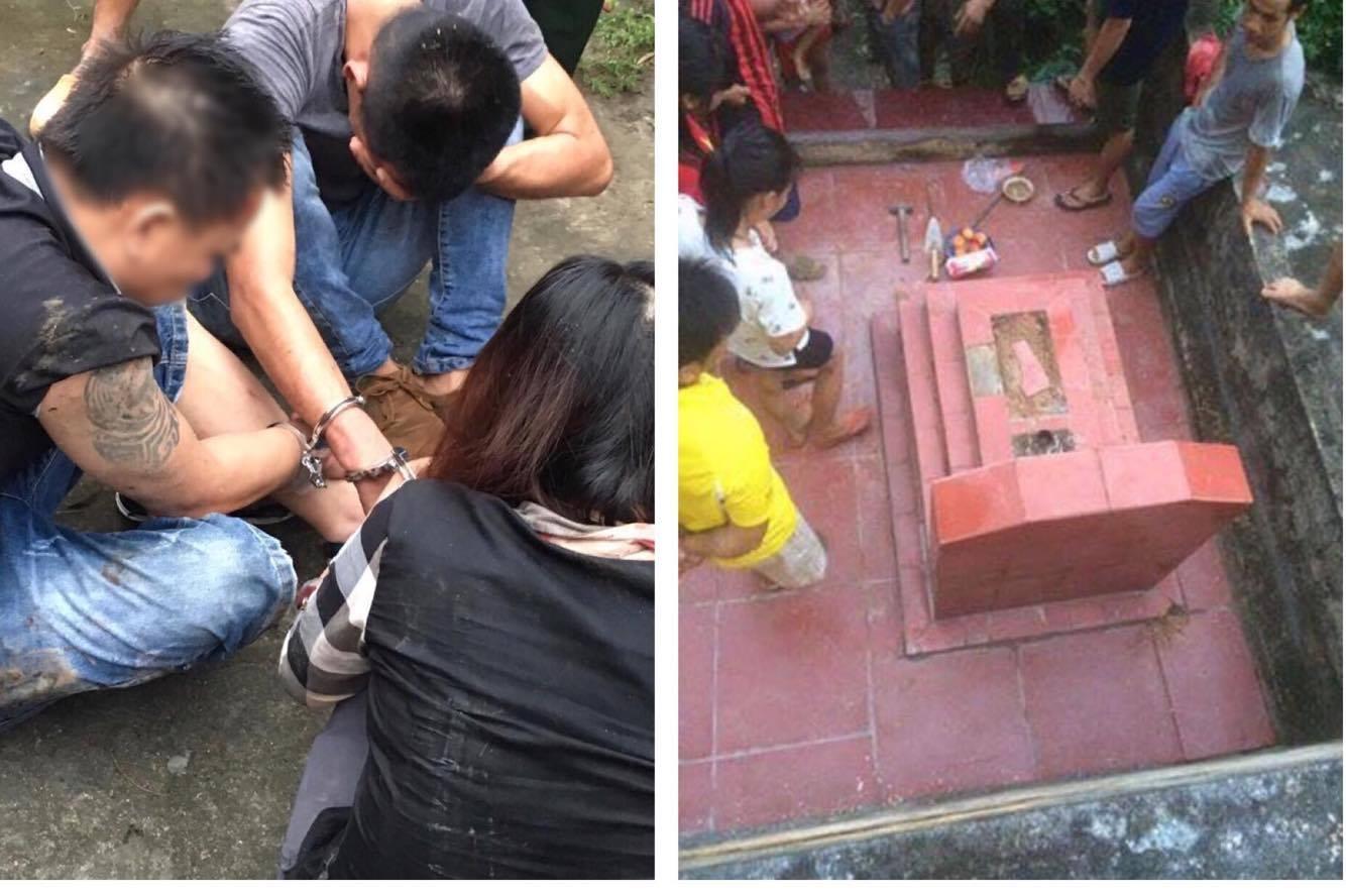 Bí mật phía sau vụ đào trộm mộ cô gái trẻ tìm 5 cây vàng - 1