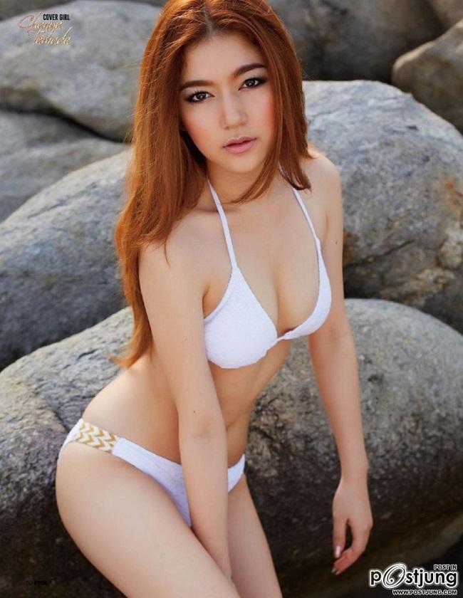 Cô sinh năm 1987, mang trong mình 2 dòng máu Nhật Bản và Thái Lan.