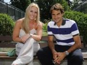 """Thể thao - Tennis 24/7: Federer là gương sáng của """"Bà chúa tuyết"""""""
