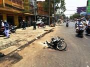 An ninh Xã hội - Vì trái dừa, cô gái cùng 5 người bị tạt nguyên can axit
