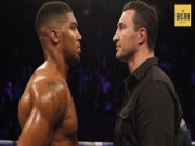 """Thể thao - Tin thể thao HOT 3/7: Joshua dọa Klitschko """"nhanh không mất chỗ"""""""