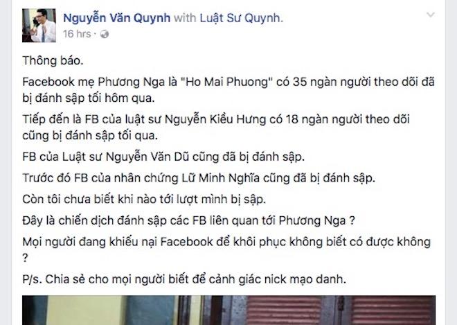 """Từ vụ HH Phương Nga, tài khoản Facebook có thể bị """"hạ bệ"""" theo cách nào? - 1"""