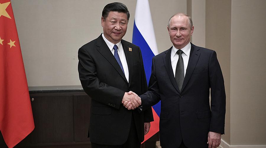 Tập Cận Bình gặp Putin, kí kết thỏa thuận 10 tỉ USD - 1