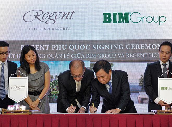Regent và BIM Group ký kết hợp đồng quản lý dự án Regent Phu Quoc - 3