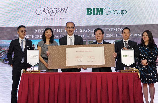 Regent và BIM Group ký kết hợp đồng quản lý dự án Regent Phu Quoc - 4