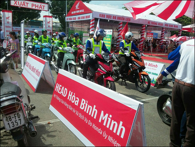 Cùng Head Honda Hòa Bình Minh lái xe an toàn, tiết kiệm nhiên liệu - 1