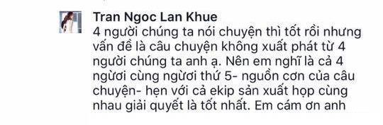 Xôn xao vì vụ Minh Tú xô ngã Lan Khuê tại The Face - 7