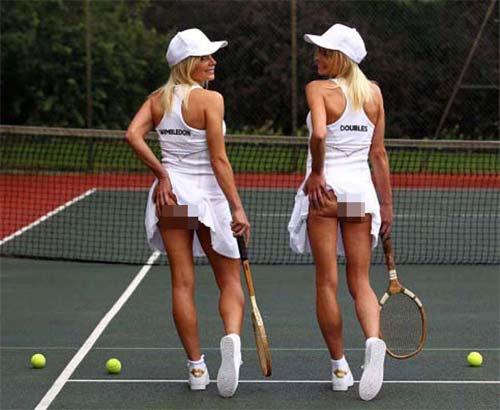 Sự thật sau ảnh kinh điển mỹ nữ tennis vén váy lộ vòng 3 - 3