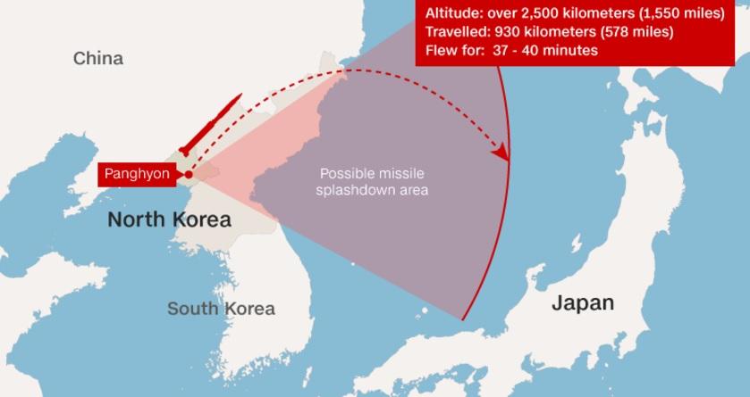 Chuyên gia: Tên lửa Triều Tiên vừa bắn đủ sức vươn tới Mỹ - 1