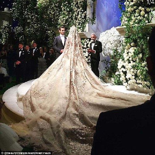 Đại gia Nga chi 240 tỷ làm đám cưới cho con gái rượu - 4