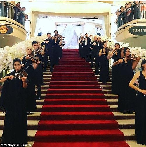 Đại gia Nga chi 240 tỷ làm đám cưới cho con gái rượu - 5