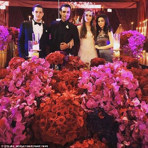 Đại gia Nga chi 240 tỷ làm đám cưới cho con gái rượu - 9