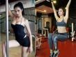 Sao Việt cực nóng bỏng khi đổ mồ hôi trong phòng gym