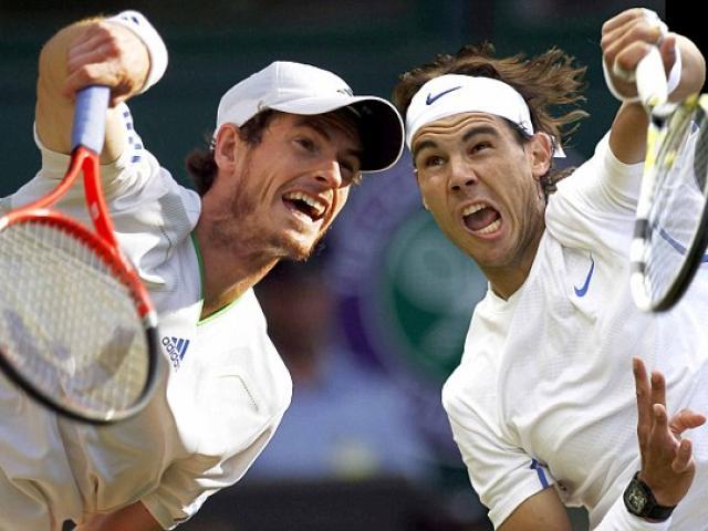 Trực tiếp tennis Wimbledon ngày 3: Nadal sung mãn, Murray