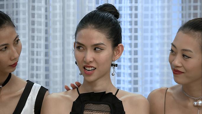 """Dung nhan """"ác nữ xắt xéo"""" đang hot nhất Next Top Việt - 4"""