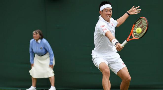 "Nishikori - Stakhovsky: 2 loạt tie-break ""vỡ tim"" (Vòng 2 Wimbledon) - 1"