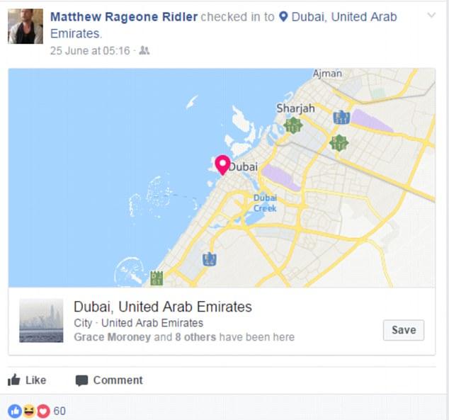 Vượt ngục Indonesia, khoe đang hưởng thụ ở bãi biển Dubai - 2