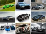 Loạt siêu xe nổi bật tại Goodwood Festival of Speed 2017