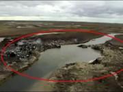 Thế giới - Nga: Hố tử thần 50m xuất hiện sau vụ nổ vang trời rực lửa