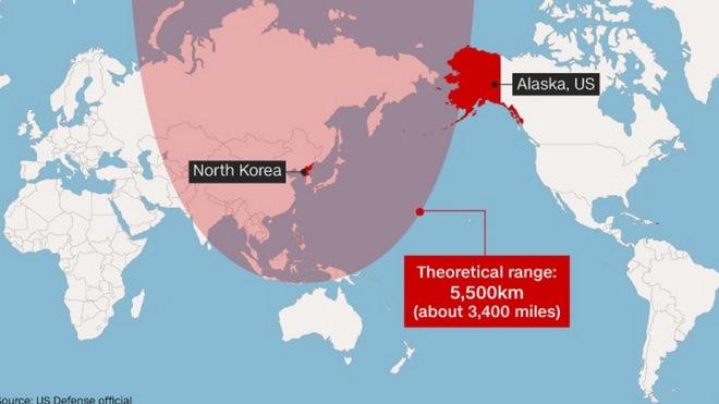 """Tên lửa Triều Tiên mới bắn là loại """"chưa từng thấy"""" - 2"""