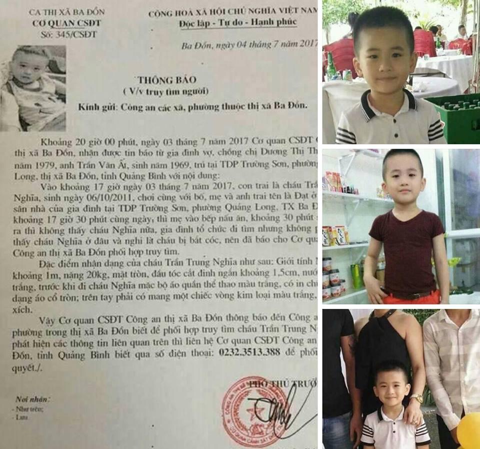 Vụ cháu bé ở Quảng Bình mất tích bí ẩn: Xác minh bức ảnh gây xôn xao - 2