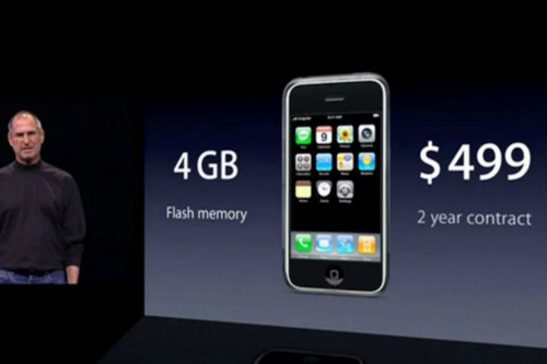 """10 điều """"kinh khủng"""" trên chiếc iPhone đầu tiên - 10"""