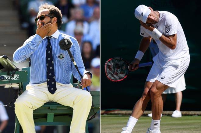 Tin nóng Wimbledon ngày 4: Ném tiền vào trọng tài, sắp ăn trái đắng - 3