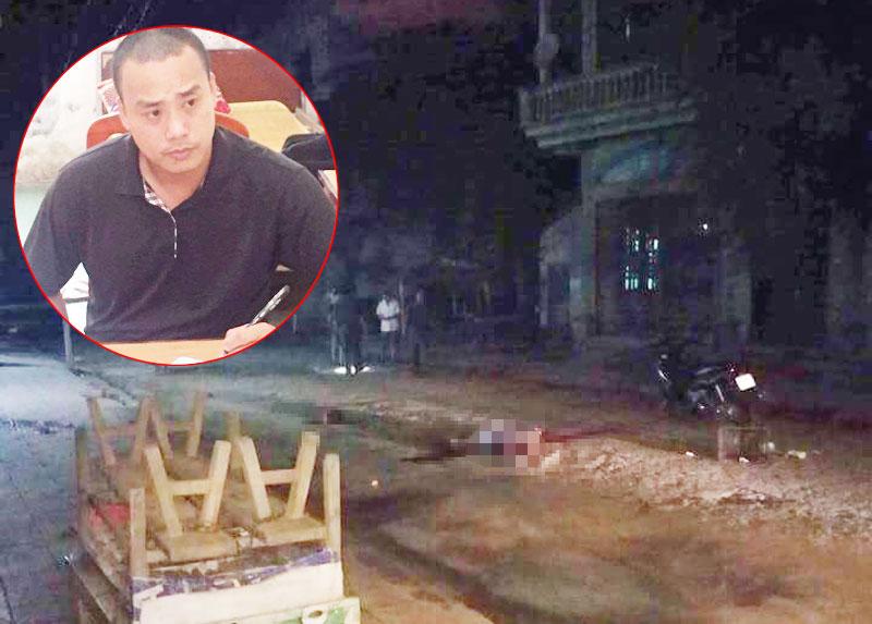 Tiết lộ bất ngờ về nghi phạm chém người dã man ở Vĩnh Phúc - 1