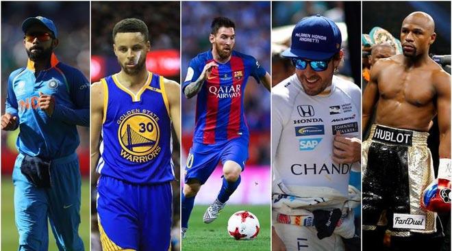 Messi lương 2 tỷ đồng/ngày: Thua Mayweather đấm 1 giây - 1