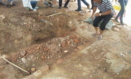 Tìm thấy huyệt mộ vợ vua Tự Đức - 2