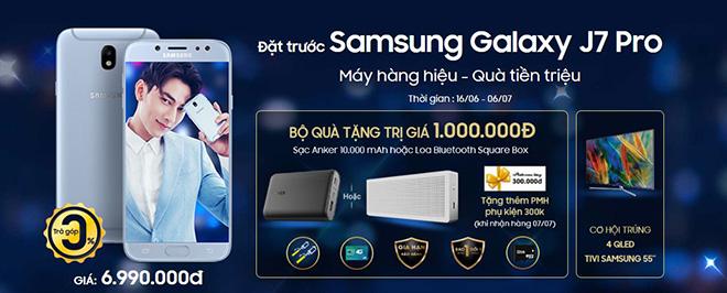 Cùng sao ngao du thế giới với Samsung Galaxy J7 Pro tại Viễn Thông A - 2
