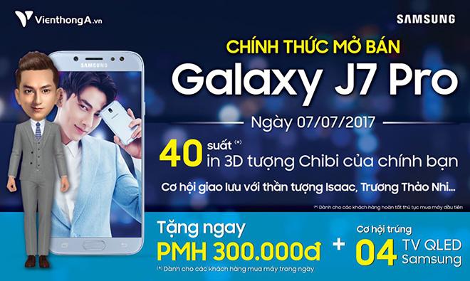 Cùng sao ngao du thế giới với Samsung Galaxy J7 Pro tại Viễn Thông A - 1