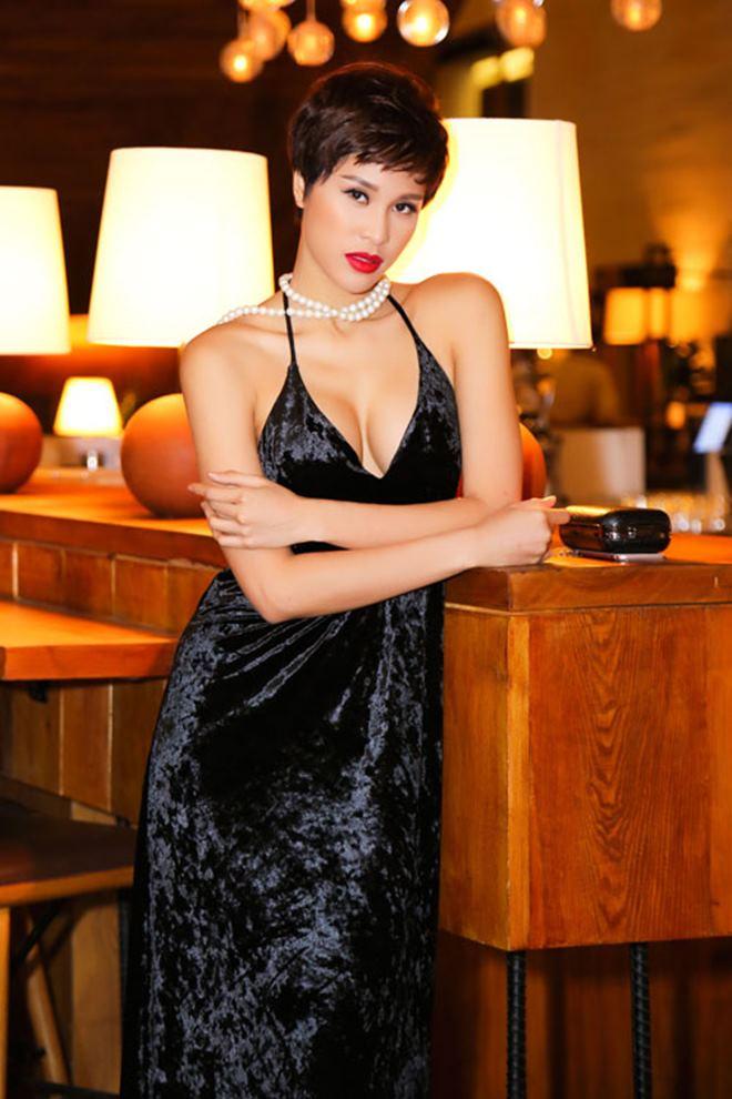 Thót tim vì váy áo táo bạo của cựu mẫu Phương Mai - 6