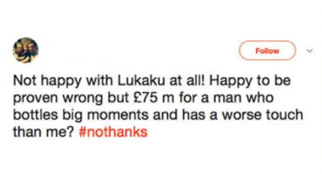 "MU mua Lukaku: Fan ""Quỷ đỏ"" lo ""chân gỗ"", fan Chelsea nổi giận - 2"